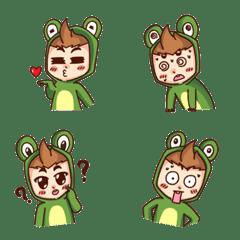 Emoji, Frog boy Thai