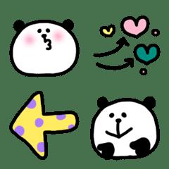 セットで使いやすいパンダの絵文字(第10弾)