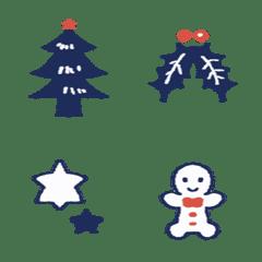 大人のクリスマス絵文字