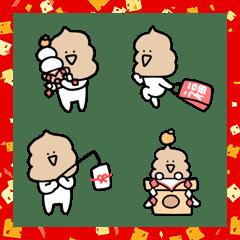 【年末年始】シュールなミニうんこ