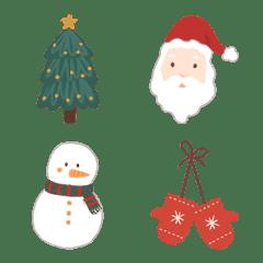 Christmas celebration emoji