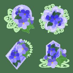 Cute Violet Emoji