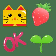 ぷっくり絵文字 -POP-