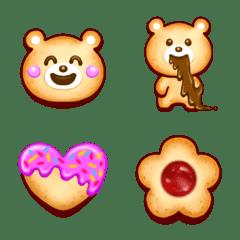 くまさんクッキーの絵文字