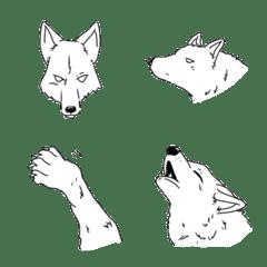 オオカミをお供にしたい