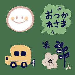 大人カラー♡ シンプル絵文字