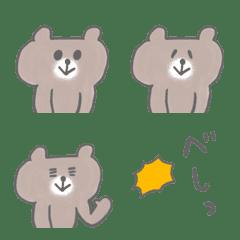 表情豊かなクマさん