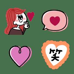 大人可愛い♡ガーリー絵文字(2)