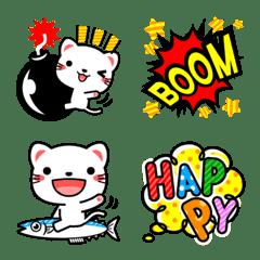 白猫の絵文字3