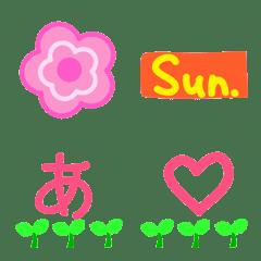 Lovely Spring2-Kana letters Emoji 305pcs