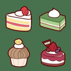 毎日使おう!今日のケーキ絵文字