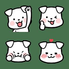 White Dog Face JinDoly