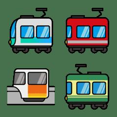 首都圏を走る私鉄電車と乗り物たち