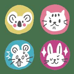 可愛い♡カラフル動物