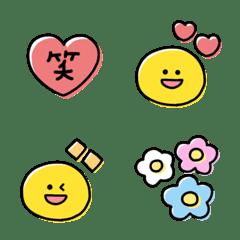 大人可愛い♡基本のスマイル絵文字(1)