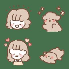 ◇トイプーとふわり女の子