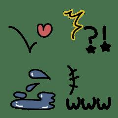 使いやすい 絵文字を動かす絵文字