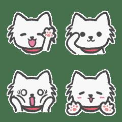 犬のヒナちゃんの絵文字