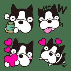 【ボストンテリア】犬絵文字