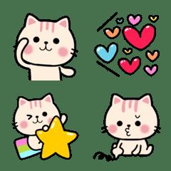 おしゃ優しい❤大人可愛い猫ネクニャ絵文字