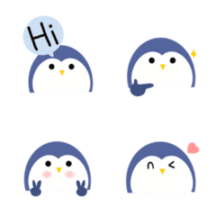 Penguin emoji so cute