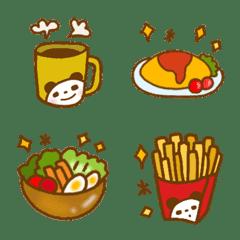可愛い 食べ物 絵文字 ②