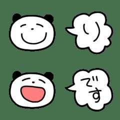 らくがきパンダの絵文字