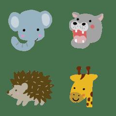 集まれ!動物いっぱい絵文字