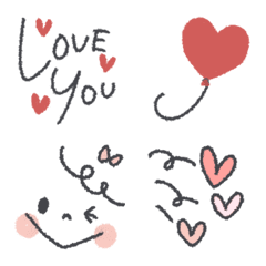 LOVE♥絵文字