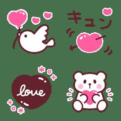 ゆるかわスイート♡ピンク×ブラウン♡