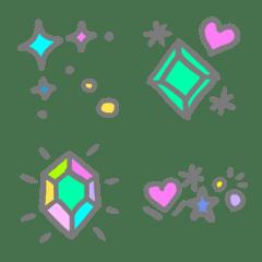 キラキラ・宝石の絵文字