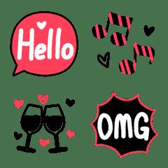 大人の♥️おしゃれシンプル可愛い絵文字2