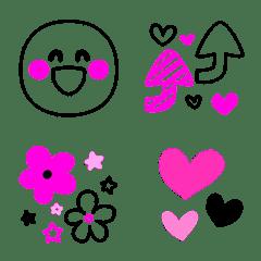 大人の♥️おしゃれ可愛いガーリー絵文字