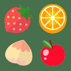 [ 果物2 ] みんなの絵文字 基本セット