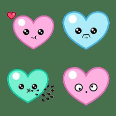 Mini Heart Pastel Emoji