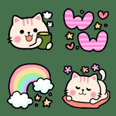 おしゃれ猫❤大人面白いゆるネクニャ絵文字