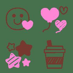 大人の♥️おしゃれガーリー可愛い絵文字