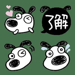 犬のバウピー☆シンプル絵文字