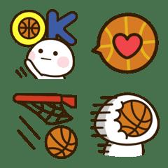ほっこり♡バスケ絵文字。