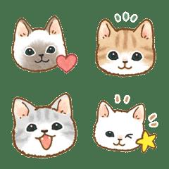 猫たちの絵文字 2