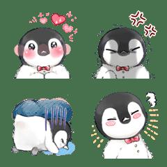 ヒナペンギンの可愛い絵文字