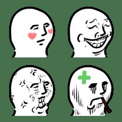 Ababa emoji: faces