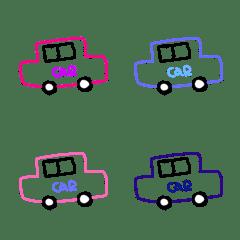 車がいっぱい