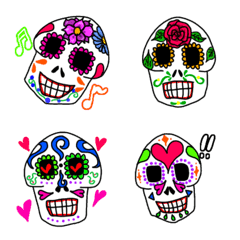 Mexican skull絵文字