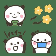 大人ガーリー♡ほっこりパンダ絵文字