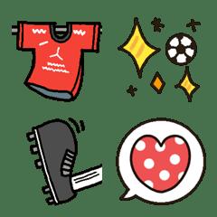 サッカーサポーター絵文字