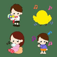男の子と女の子絵文字