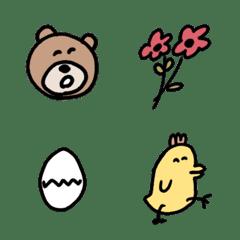 ゆるい生き物たち 絵文字3