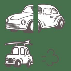 【シンプル】車の絵文字