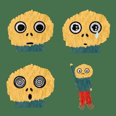 黄色いもじゃもじゃの感情表現 1
